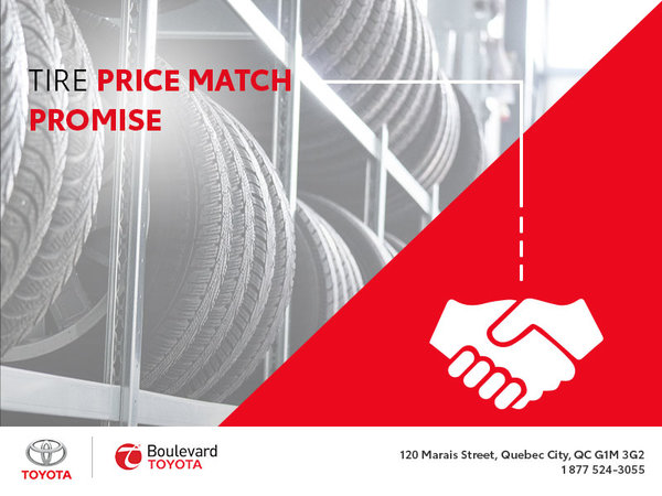 Tire Price Match : You Want That!