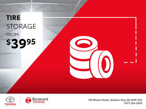 Tire Storage From $39.95 : You Want That!