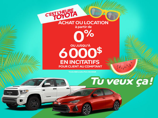 Offre promo véhicules neufs