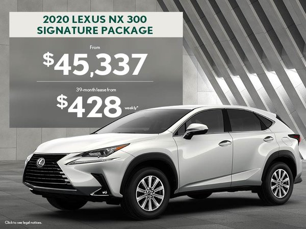 2020 NX - August promotion