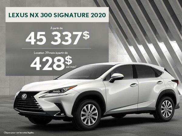 NX 2020 - Promotion août