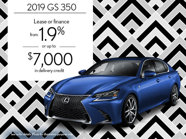 2019 GS 350 - August