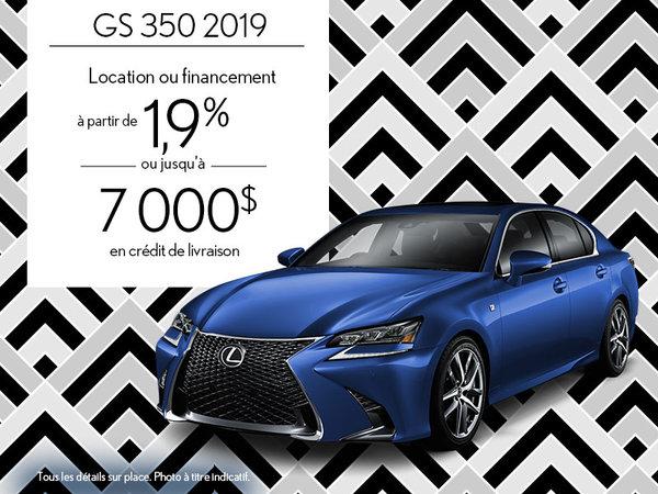 GS 350 2019 - Août