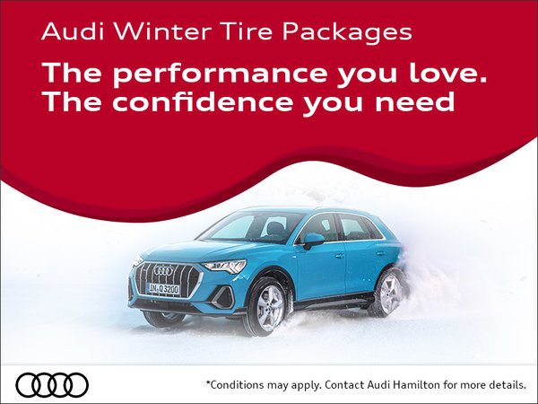 Audi winter tire packages
