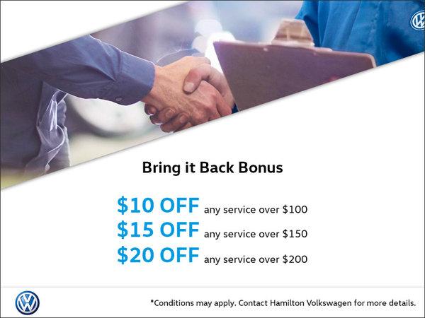 Bring-It-Back Bonus