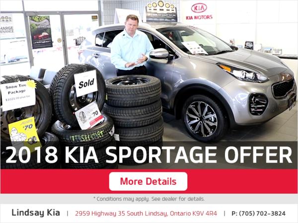 2018 Kia Sportage Offer