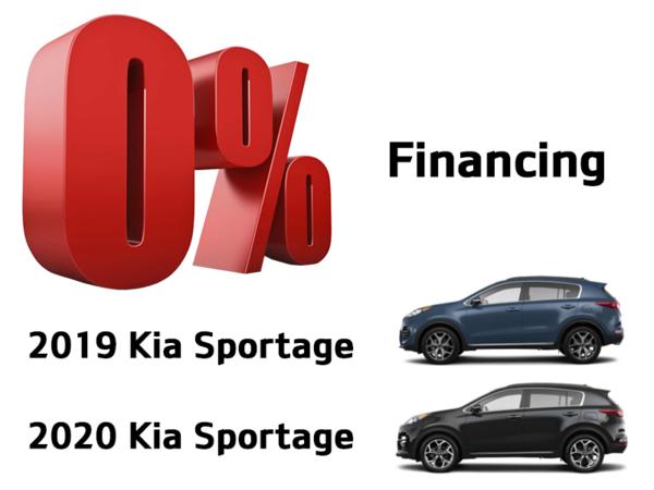 Kia Sportage offer
