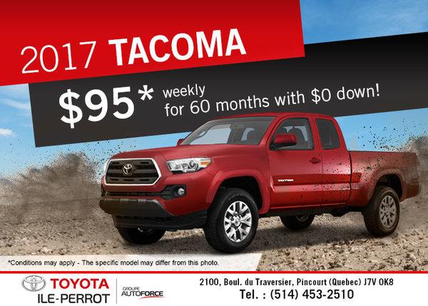 2017 Toyota Tacoma for sale!