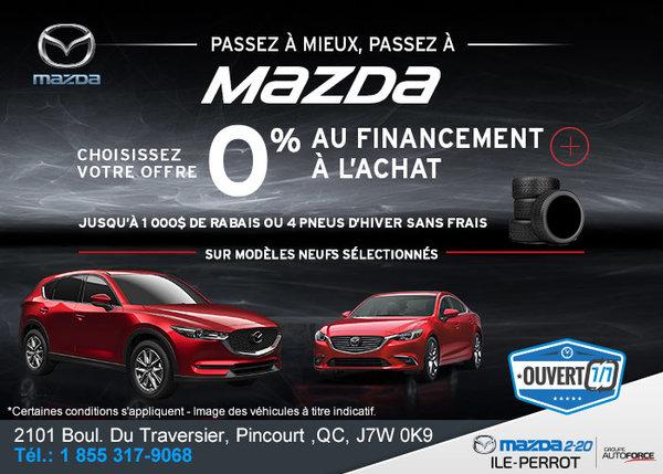 L'événement de vente mensuel chez Mazda