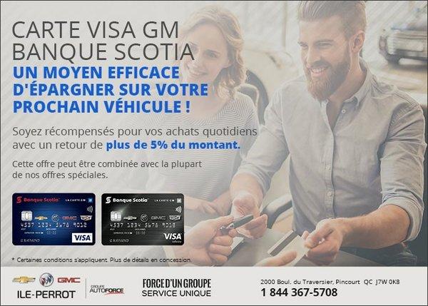 Carte Visa banque Scotia