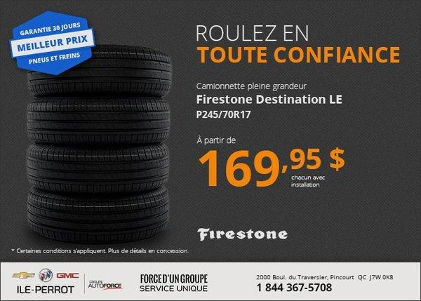 Pneus Firestone Destination LE