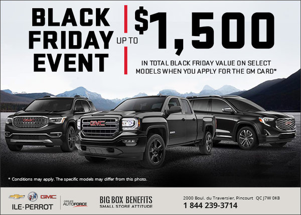 Monthly Sale on Select GMC models!