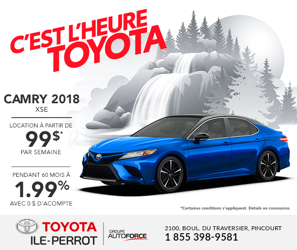 Camry 2018 XSE