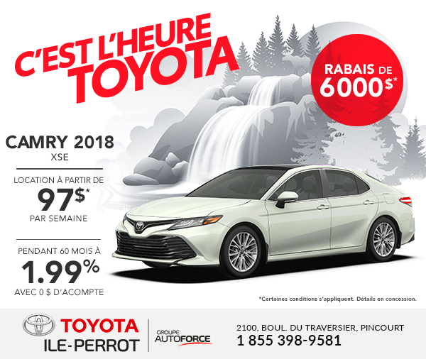 Camry 2018 XLE