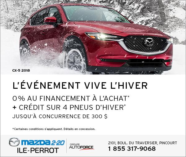 CX-5 2018 - L'ÉVÉNEMENT VIVE L'HIVER