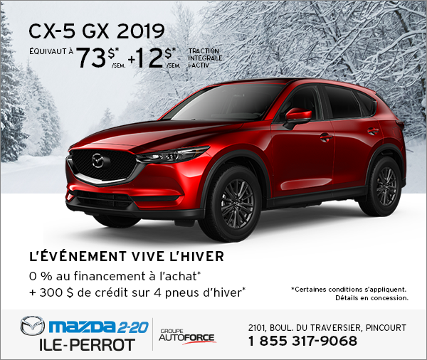 CX-5 2019 - L'ÉVÉNEMENT VIVE L'HIVER