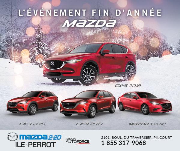L'événement Fin d'année Mazda