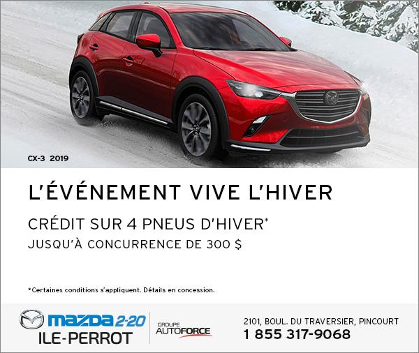 CX-3 2019 - L'ÉVÉNEMENT VIVE L'HIVER