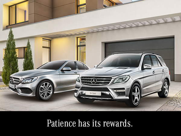 Patience has its rewards.