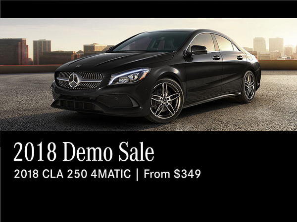 2018 Demo Sale