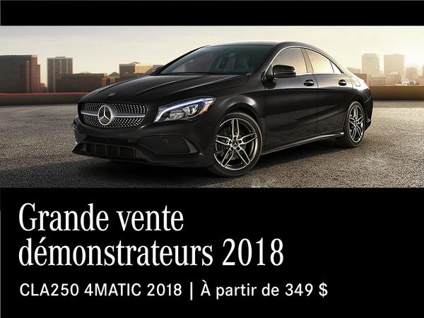 Grande vente démonstrateurs 2018