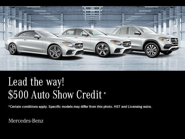 Auto Show Credit
