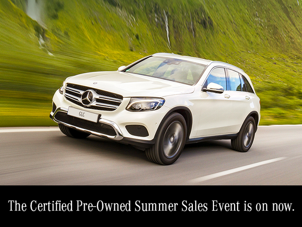 Summer Certified Pre-Owned Sales event