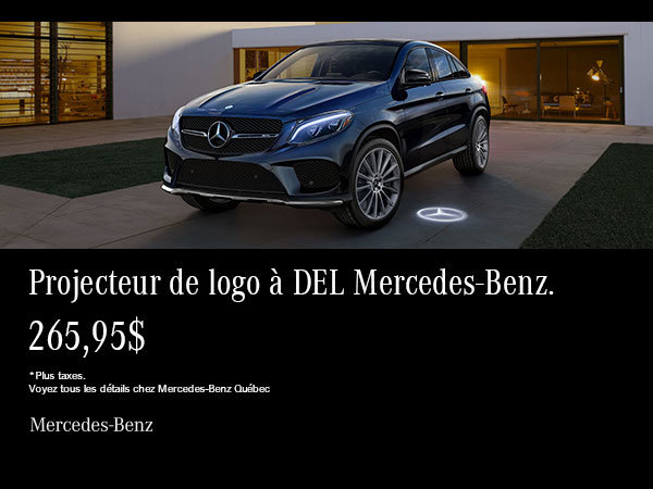 Projecteur DEL Mercedes-Benz.