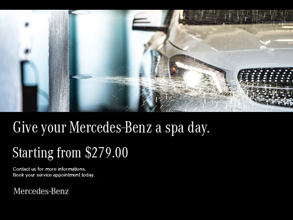 Spa by Mercedes-Benz.