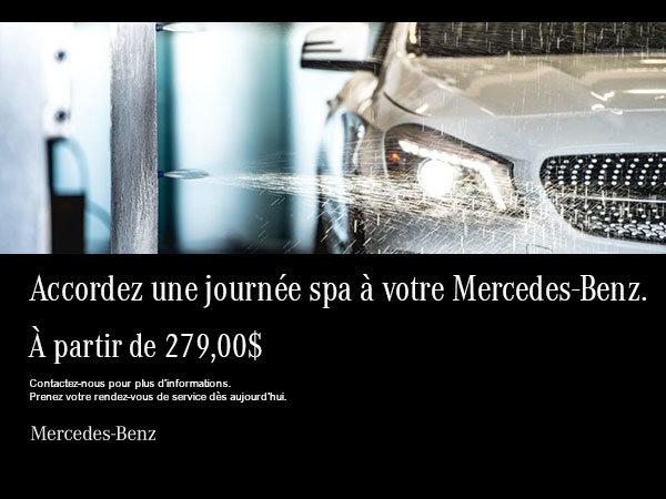 Spa de Mercedes-Benz.