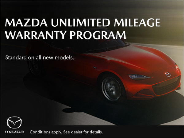 Mazda Unlimited Mileage Warranty Program