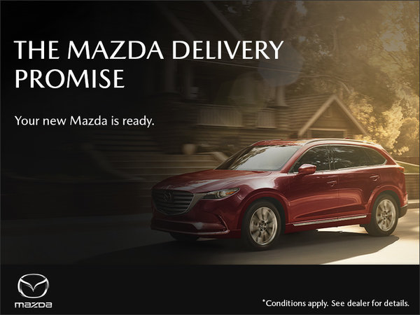 Regina Mazda - The Mazda Delivery Promise