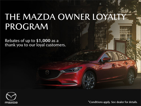 Regina Mazda - The Mazda Owner Loyalty Program