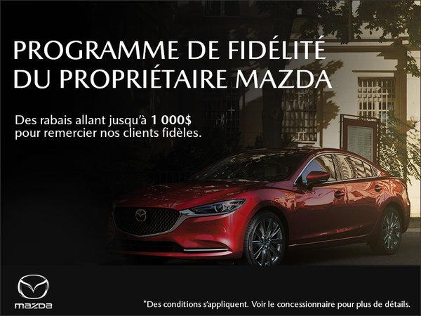 Duval Mazda - Programme de fidélité du propriétaire
