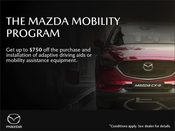 Mazda Gabriel St-Laurent - The Mazda Mobility Program