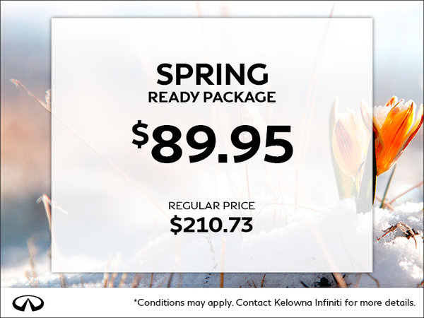 Spring Ready Package