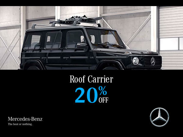 Roof carrier special.