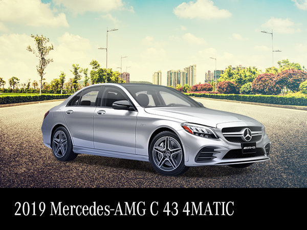 2019 AMG C43 demo starting from $757/month*