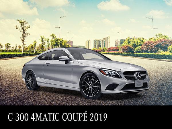 Démo C 300 Coupé 2019 à partir de 617$/mois*