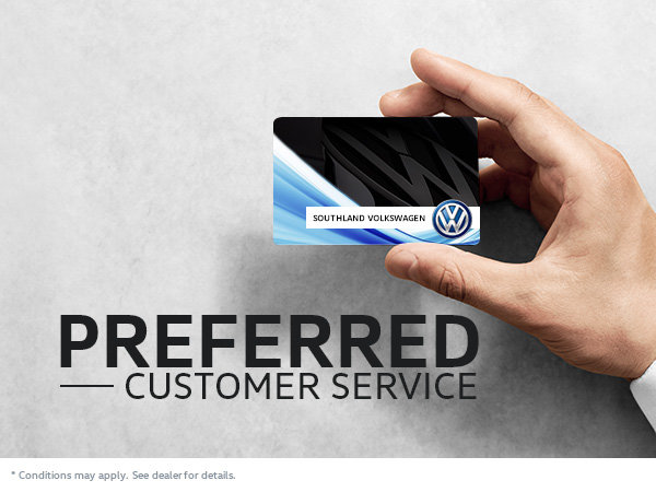 Preferred Customer Card