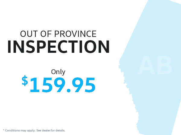 Out of Province Inspection