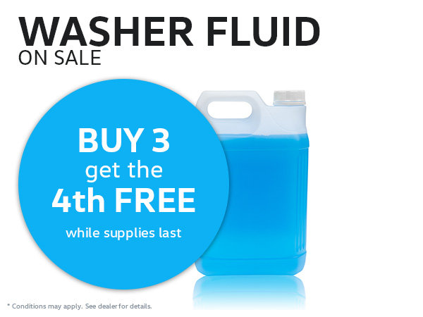 Washer Fluid Sale