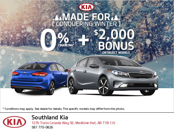 Kia Made For Conquering Winter Event