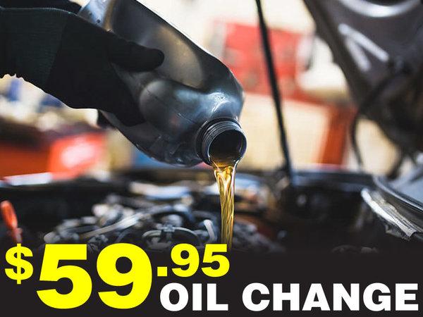 $59.95 Oil Change