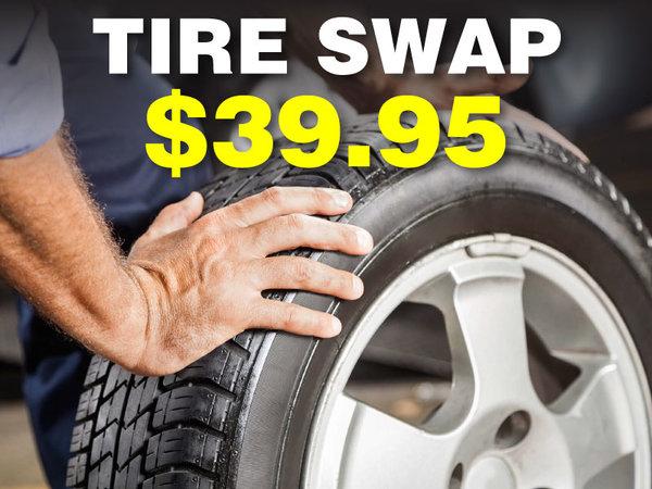 $39.95 Tire Swap