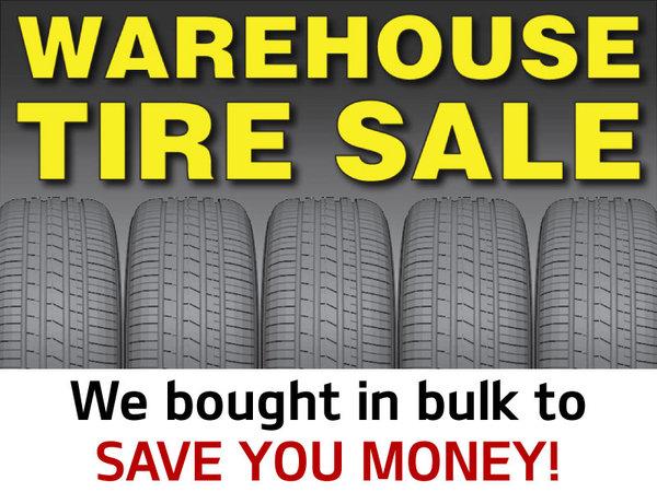 Warehouse Tire Sale