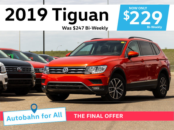 Autobahn for All Final Offer - Tiguan