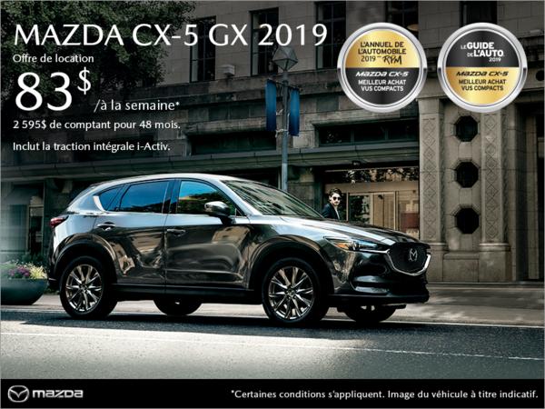 Mazda CX-5 neuf en promotion à Montréal