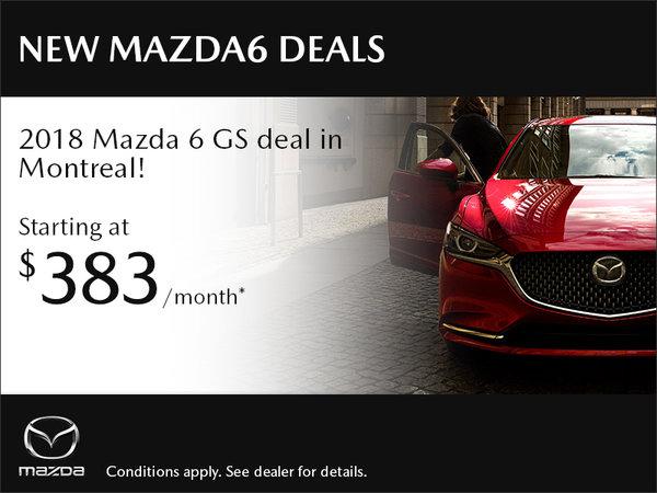 New Mazda6 Deals in Montreal