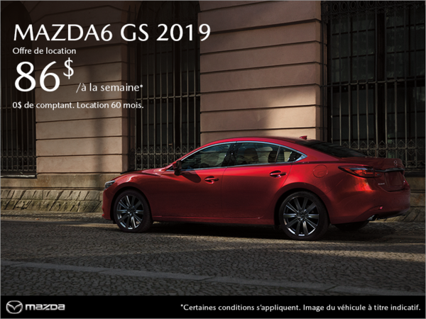 Procurez-vous la Mazda6 2019 à Montréal